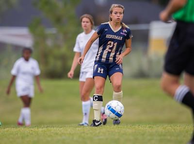 Herriman vs Corner Canyon girls varsity soccer