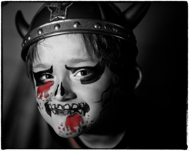 The little Geno Skeleton, Zombie Viking Vampire Boy.  I guess he totally original huh?