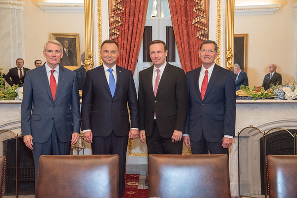 Polish president Washington D.C. visit