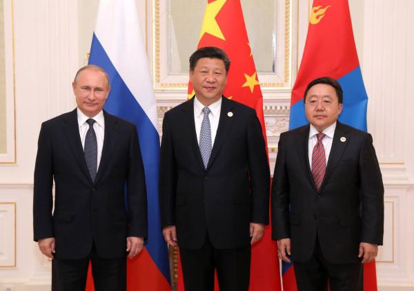 Монгол Улс, БНХАУ, ОХУ-ын Төрийн тэргүүн нарын гурав дахь удаагийн дээд түвшний уулзалт амжилттай болов