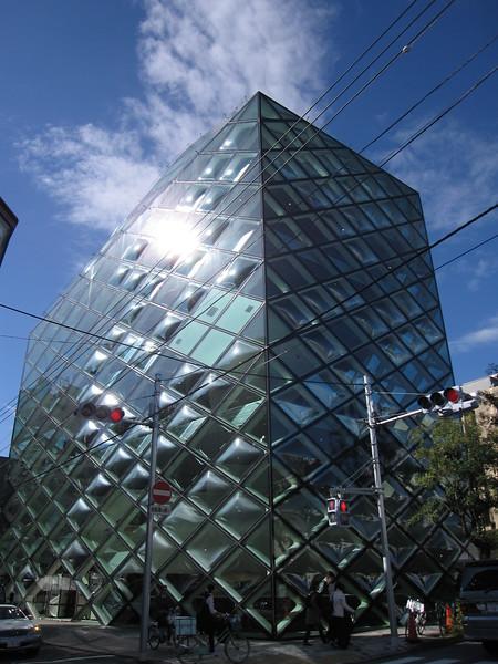 The Prada building in Aoyama