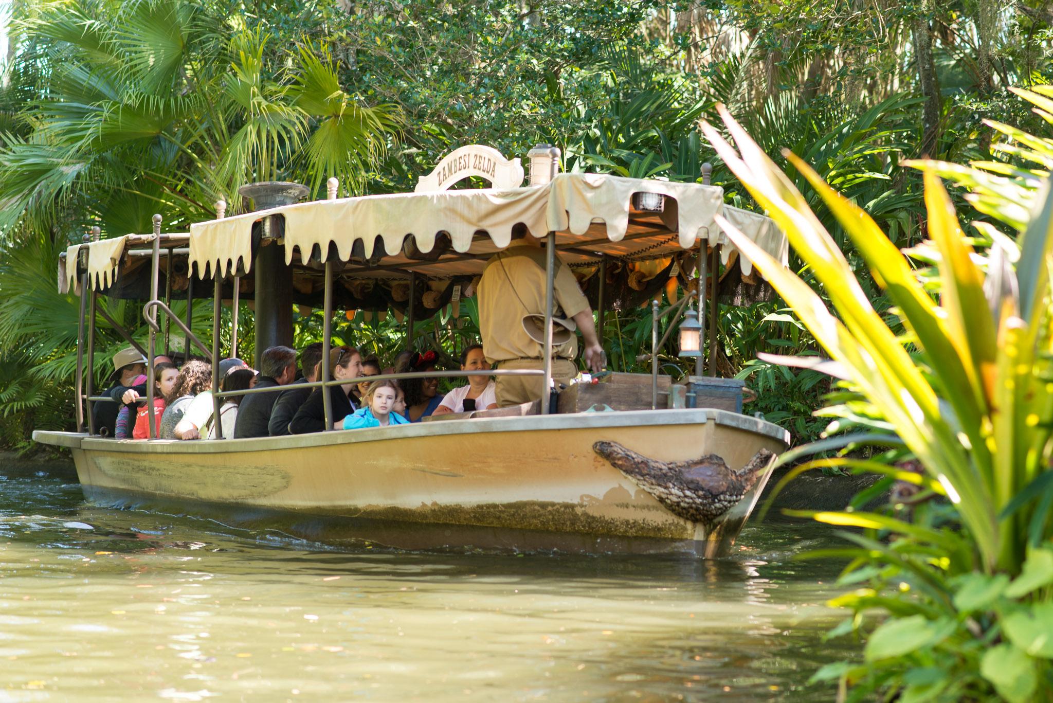 Jungle Cruise Boat - Walt Disney World Magic Kingdom