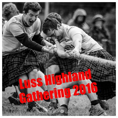The 2016 Luss Highland Gathering