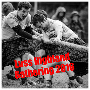The 2016 Luss Highland Gathering