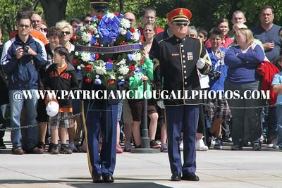 World War II Veterans visit Arlington National Cemetery (April 2011)