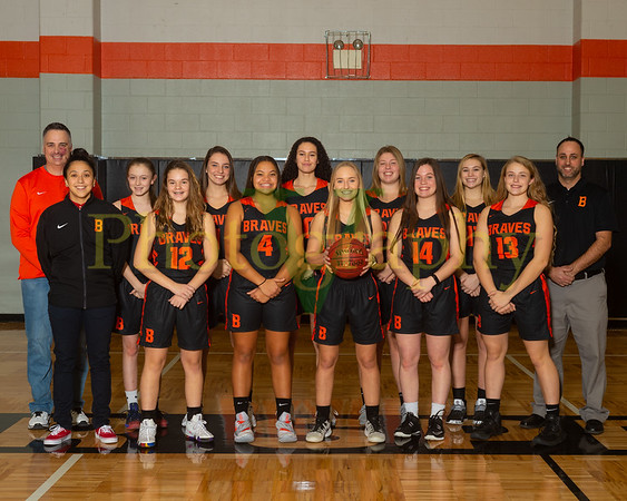Bonner Springs Womens Basketball 2018-19