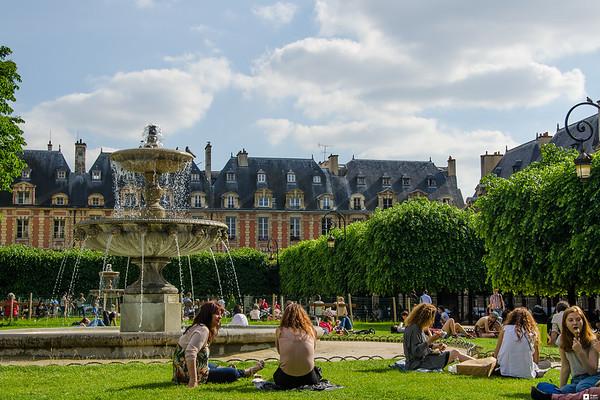 Summer in Paris / Sommer i Paris 2017