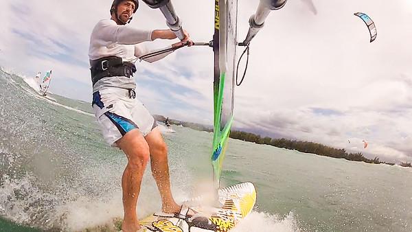 Chris Windsurfing