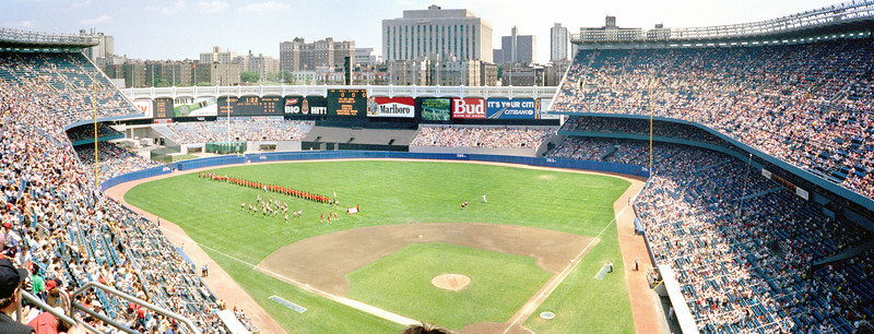 Bat Day, Yankee Stadium, June, 1987