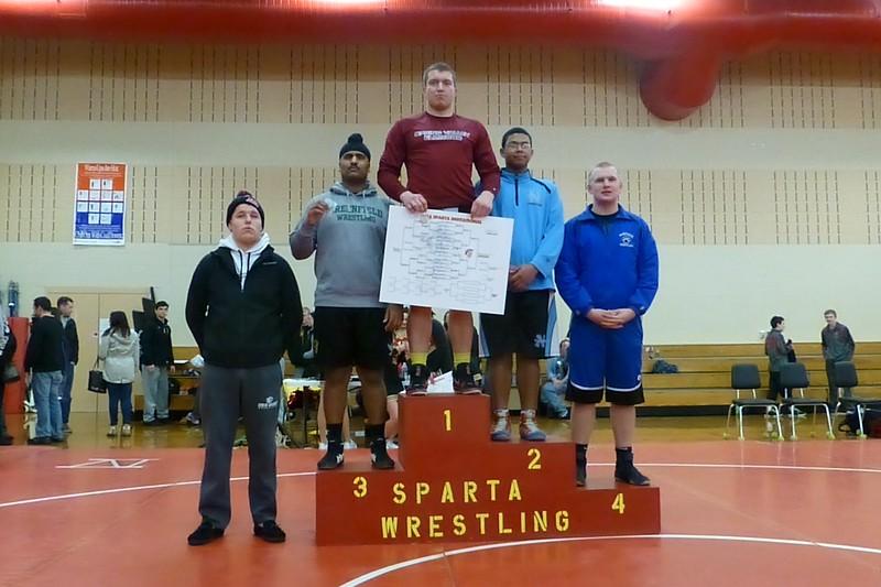 Wrestling 2015 - Sparta Invite