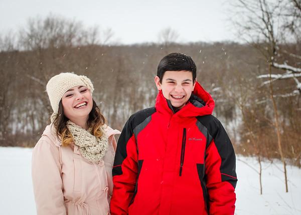 2015.02.09 - Snow Fun with Lori, Gabby & Aaron
