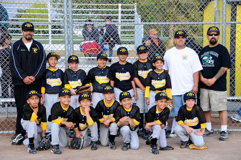 2009 Watsonville American Little League 7 and 8 year-old All-Star Team