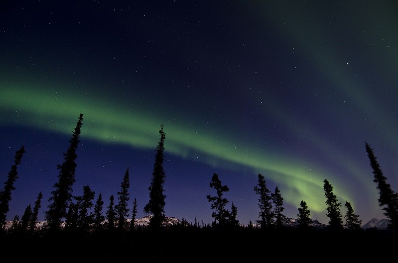 Northern Lights Tours at Chena Hot Springs, Alaska