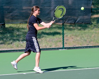 Outlaw Girls Tennis vs Summit 4-29-15