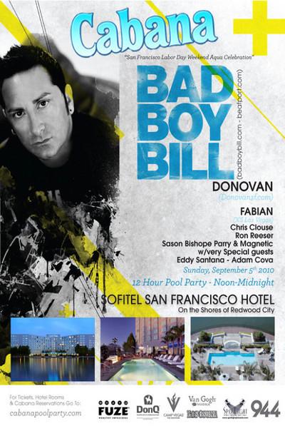 Cabana Pool Party @ Sofitel Hotel 9.5.10