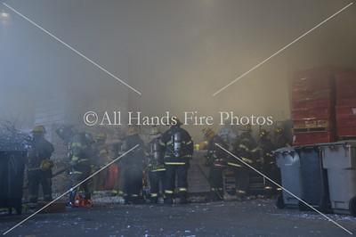 20131114 - Jericho - Compactor Fire