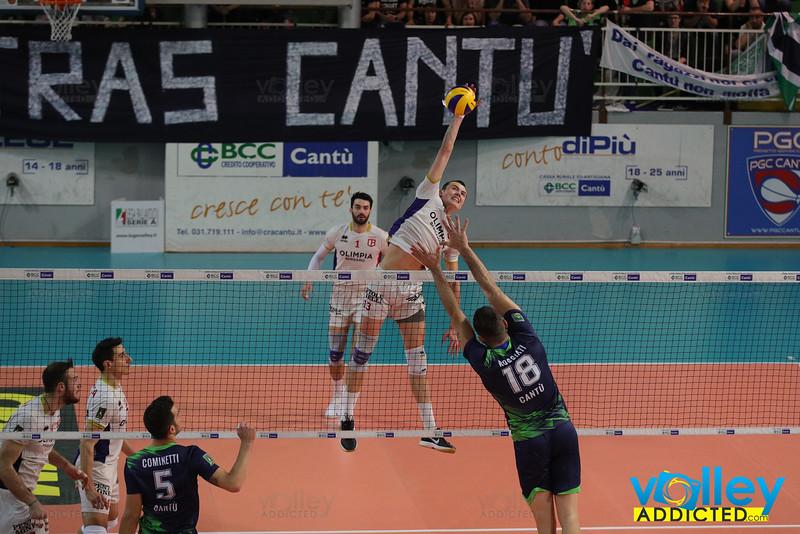 Pool Libertas Cantù 3 - Olimpia Bergamo 2 Gara 2 Semifinale PlayOff Promozione Serie A2 Maschile Credem Banca 2018/19 Cantù (CO) - 22 aprile 2019
