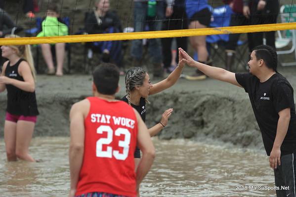 2018 Big Lake Lions Mud Volleyball