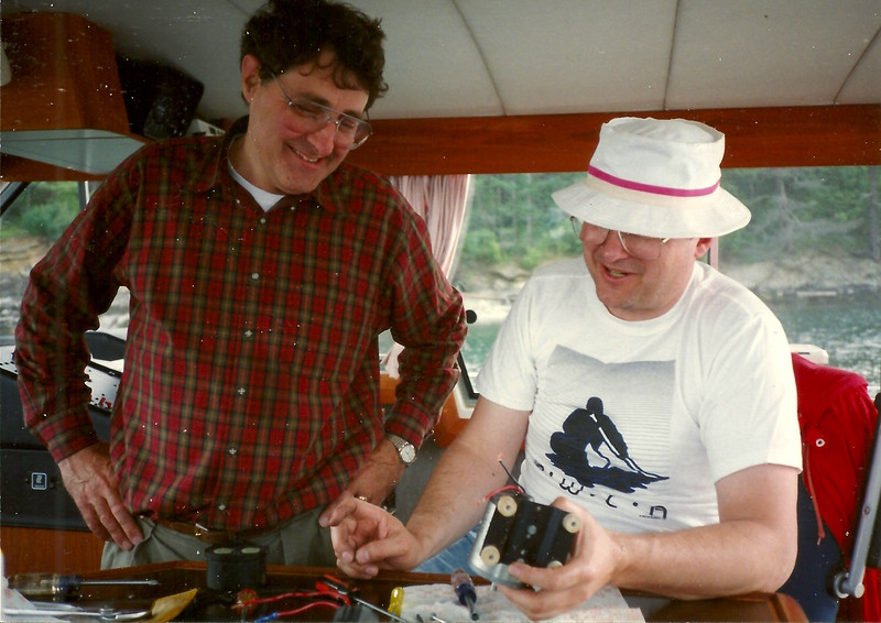 Dave and Steve spend the whole trip attempting to fix the WATER PUMP