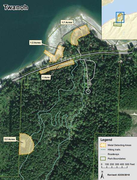 Twanoh State Park (Metal Detection Areas)