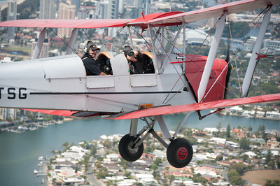 Tiger Moth Joy Ride
