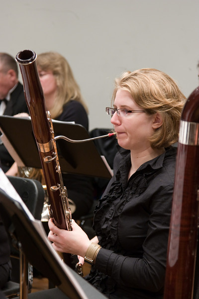 Katie Clark, bassoon -- Hopkins Symphony Orchestra, March 2008