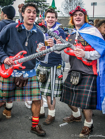 "Kilted ""Musicians"""