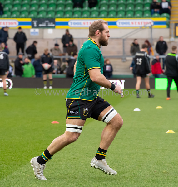 Northampton Saints vs Leicester Tigers, Premiership Rugby Cup, Franklin's Gardens, 26 January 2019