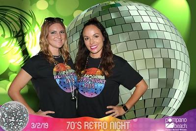 Pompano Beach 70's Retro Night