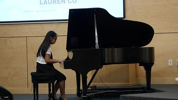 Liesl and Lauren's Piano Recital 2019