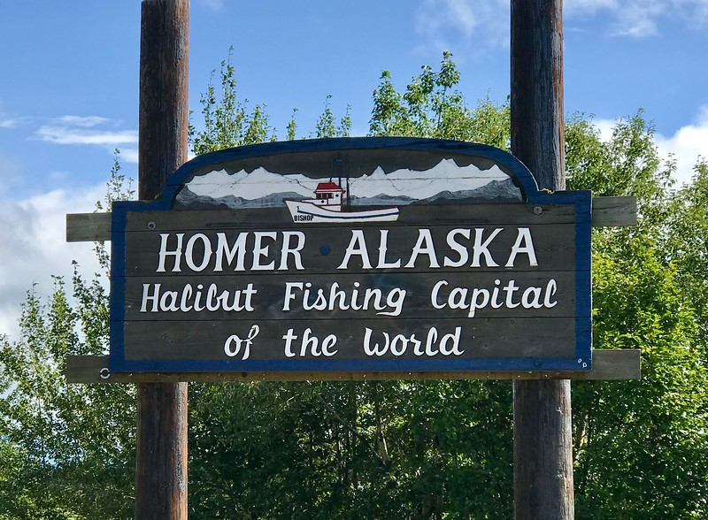 OK - WENT TO HOMER JUST FOR THE HALIBUT