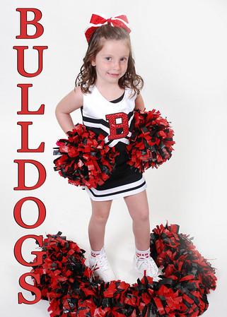 Berrey Bulldogs Cheerleaders 2010
