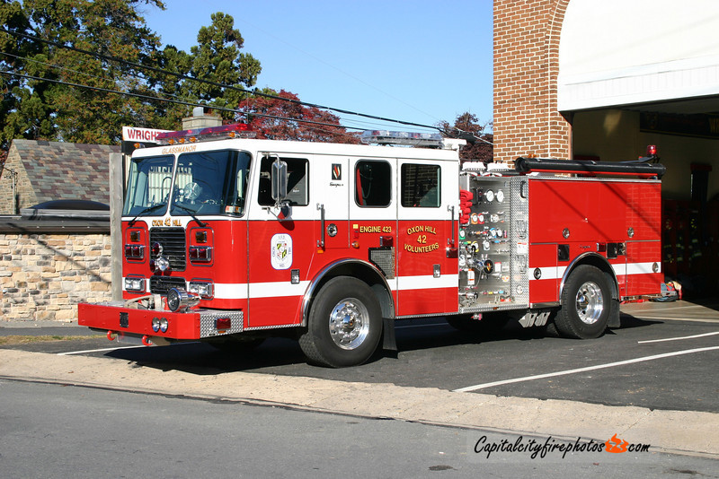 Wrightsville Engine 41: Originally slated for Oxon Hill, MD. Acquired by Wrightsville still lettered with Oxon Hill decals.
