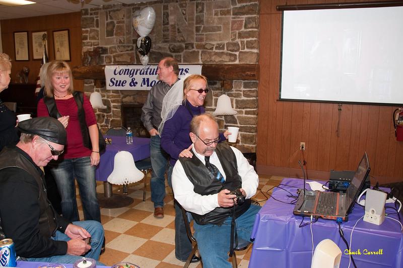 Gerry & Sue Santaro - October 23, 2010   --  Wedding