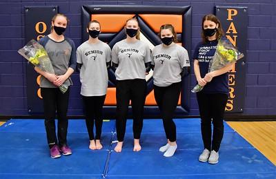Oswego gymnastic (Senior night 2021)