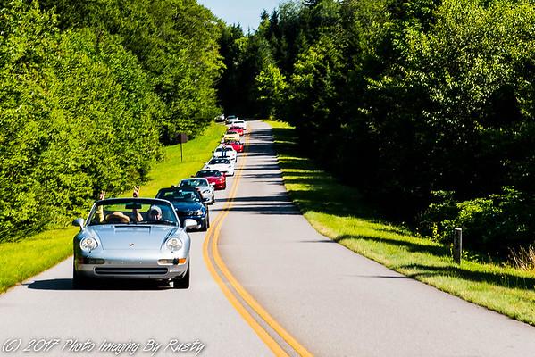 Rabun Car Group Tour -  7-22-17