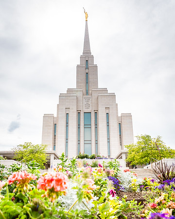 Oquirrh Mountain Temple - July 2019