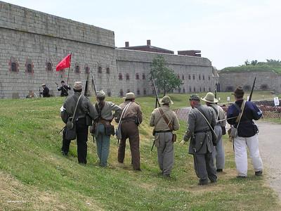 Battle of Ft Adams-July 2012