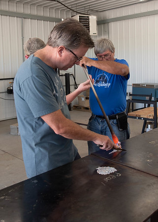 Glassblowing Matriculation:  Creating Vessels & Shapes from Molten Glass with David and Bryan Lee
