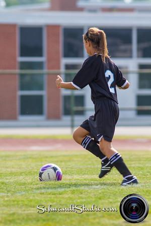 Heritage Girls Soccer 2013
