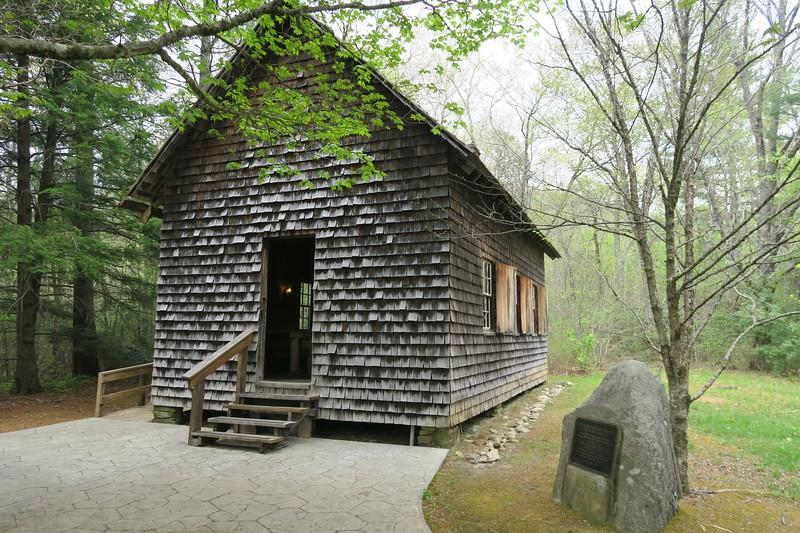 Biltmore Campus Trail -- Schoolhouse -- 3,300'