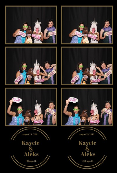 Kaycie & Aleks Wedding (08/25/18)
