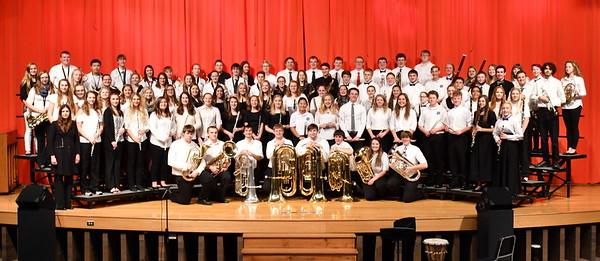Honors Band Choir 2017