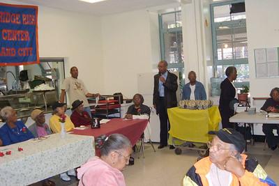 BARNES -Margaret Barnes' Seniors Event