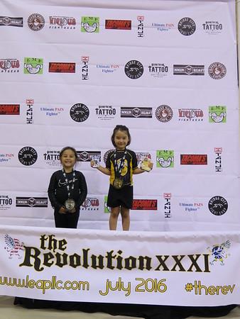 The Revolution XXXI Youth Podium - July 2016