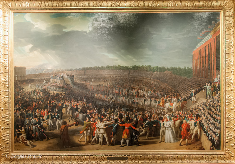 Charles Thévenin - La Fête de la Fédération displayed in the Carnavalet