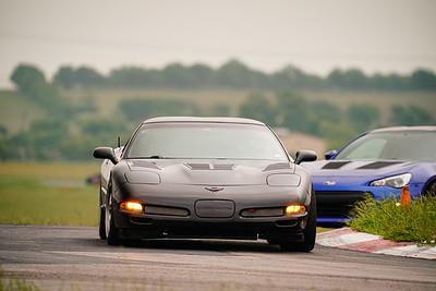 24 Black C5 Corvette