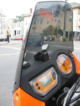 KTM dash board GPS