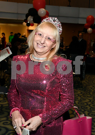 2/24/2018 Mike Orazzi | Staff Susan Lineberry during the Women of Influence Gala held at CCSU Saturday evening in New Britain.