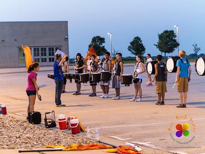 NCHS Evening Rehearsal 08/30/2012